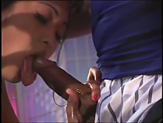 Perfect young asian with nice bush and great tits gets hard anal drilling