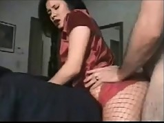 Amateur wife hard fucked on homemade