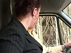 French milf hitch-hiker