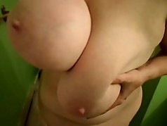 My lady friend Funbags huge sexy tits