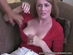 Wicked Threesome For Amateur GILF Melanie