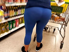 Latina Bubble in See-through Blue tights