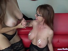 Playing with Huge Tits MINDI MINK