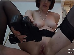 Sextape posh french milf sodomized and facialized