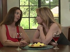 Amazing matures lesbos Angela Sommers and Mindi Mink