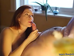 Woman Gives The Man Oral Sex