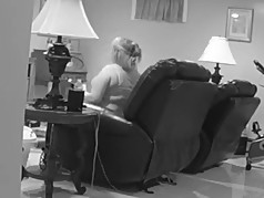 Hidden Camera Catches Wife Masterbating with Lover