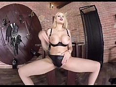 Blonde Mistress Tease