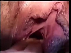 Filthy MILF gets fucked in the Urethra