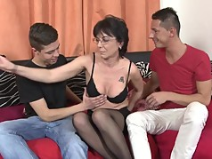 World's best mature moms fuck young sons