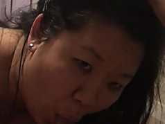 Korean MILF loved sucking my desi cock
