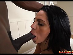 Mom Double Teamed with Black Cock