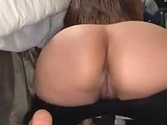 Slut Malaysian GF showing her big Chubby Ass