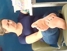 My teacher big soles #1