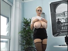 Beautiful Blonde Miracle L Cup Huge Titties