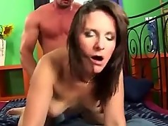Hot milf and her younger lover 774
