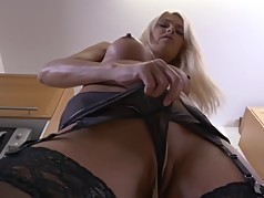 Posh wife and MILF with hungry pussy