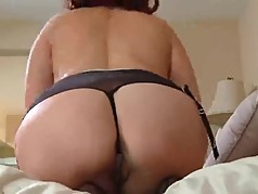 Real dripping orgasm for hot mom