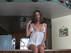 Hot MILF JOI jerk off on my nipples