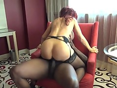 Rich Cougar and her BBC Lover