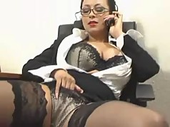 milf cheating with a client