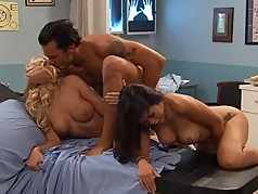 Katie Morgan 3some