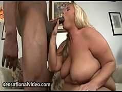 Busty WIfe Cheats On Huband with Big Black Man